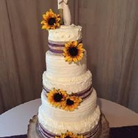 Rustic w/ Burlap and Sunflowers