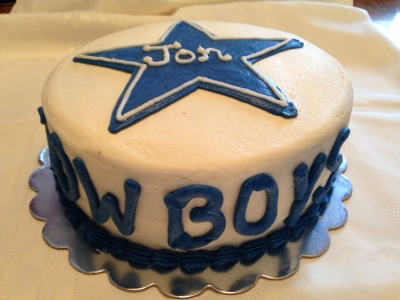 Cowboys Birthday Cake