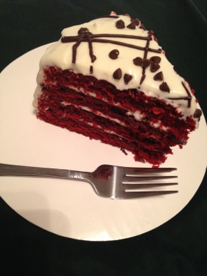 Evelyn's Red Velvet Cake