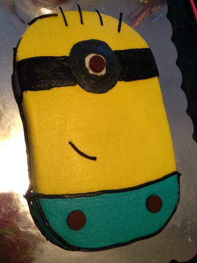 Minion Themed Cake